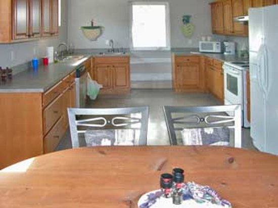 Cedar Key RV Resort: Onsite Kitchen for Vistor use