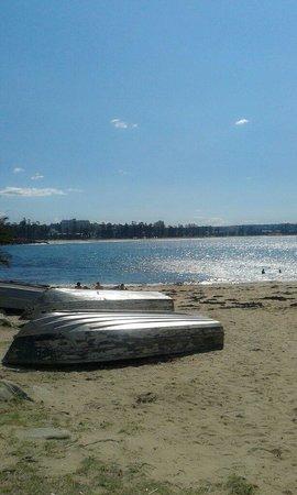 Shelly Beach: It's wonderful place .