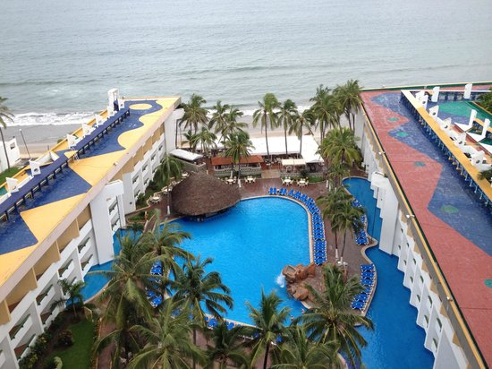 El Cid Castilla Beach Hotel: view from our room