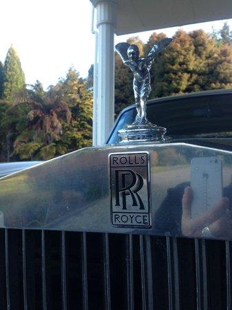 Hamurana Lodge: The beautiful Rolls Royce