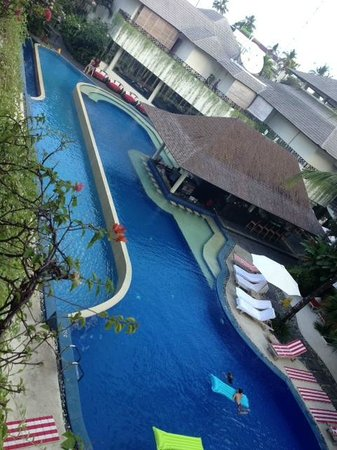 The Breezes Bali Resort & Spa: Pool view from balcony