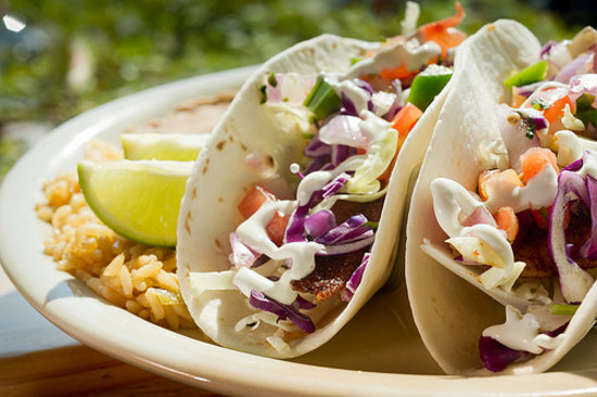 Lone Star Eatery Grill & Bar: Baja Fish Tacos