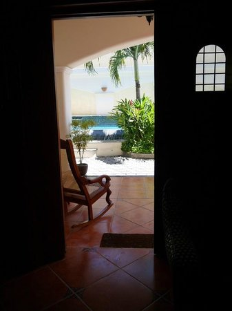 Hotel Xalteva: View from Suite 101