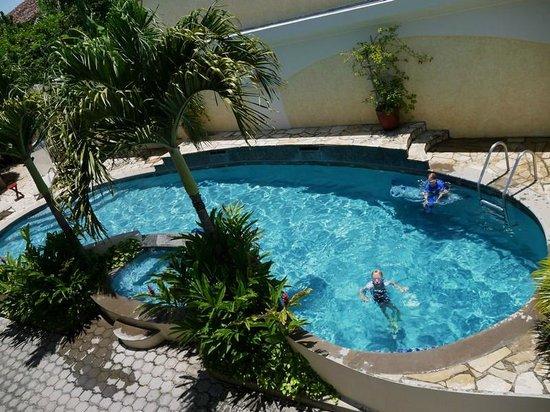 Hotel Xalteva: Pool from above