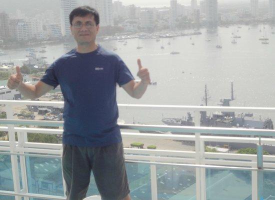 Cartagena Premium Hotel: vista desde la terraza