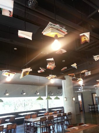 Just Sleep @ NTU : Flying books in the restaurant