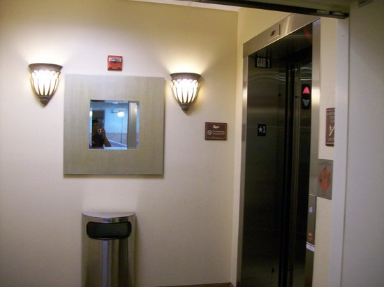 Homewood Suites by Hilton Bel Air: Elevator Bank