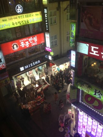 Savoy Hotel Seoul : View at night