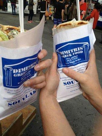 Dimitris Greek Food: Souvlaki