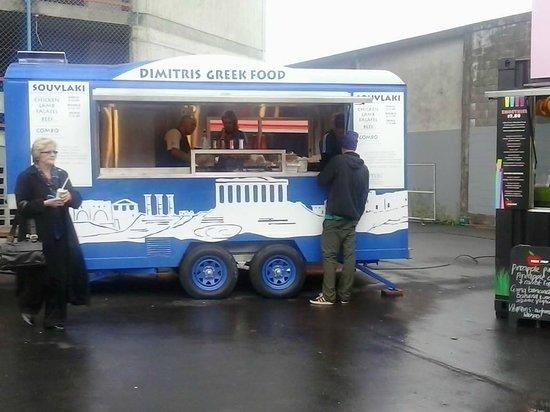 Dimitris Greek Food: New Caravan