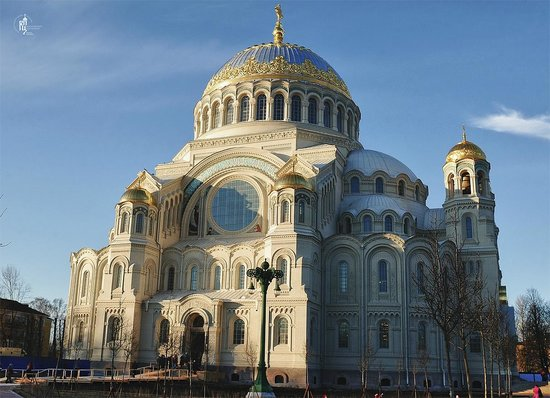 The Naval Cathedral of Saint Nicholas in Kronstadt