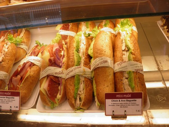 Miss Maud Swedish Hotel: Nice sandwiches from Miss Maud