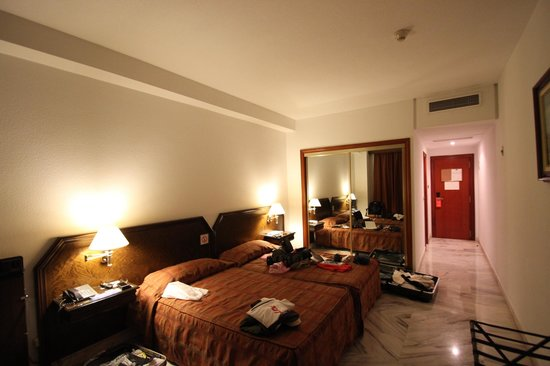 Hotel Turia: ツインルーム