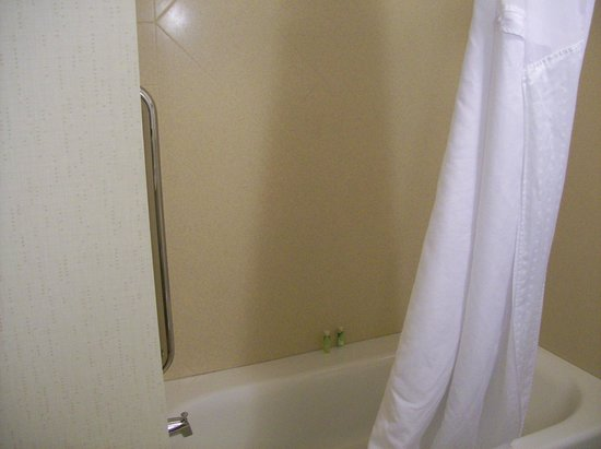 Holiday Inn Express Hotel & Suites Wilmington-Newark : Shower