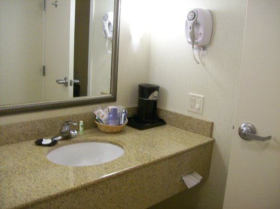 Holiday Inn Express Hotel & Suites Wilmington-Newark : Bathroom Counter in Room