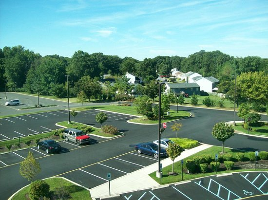 Holiday Inn Express Hotel & Suites Wilmington-Newark: View from Room 412