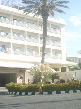 Cynthiana Beach Hotel: главный корпус