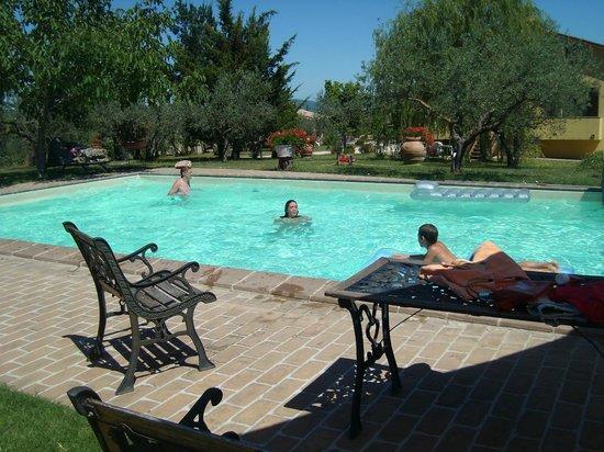 Agriturismo Del Quondam Vittorio: La piscina