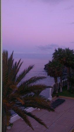 Atlantic Holiday Hotel: udsigt fra køkkenvinduet om morgenen