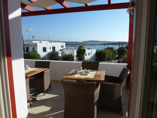 Stelia Mare Boutique Hotel: View from breakfast area