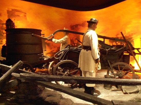 Museum of Hamburg History (Hamburgmuseum): Fire brigade