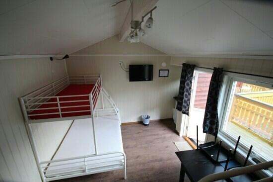 Bratland camping: Standardhytte på 15, 5 m2