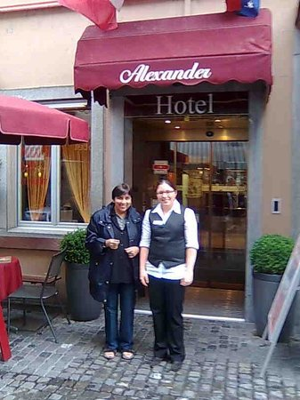 Hotel Alexander : At Hotel with Lovely Staff