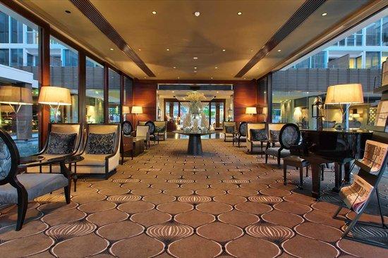 Sofitel Auckland Viaduct Harbour: Hotel Lobby