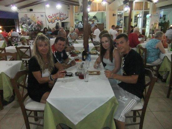 Giorgio's: Angie(myself), Terry, Ben & Natalie, 11/09/13