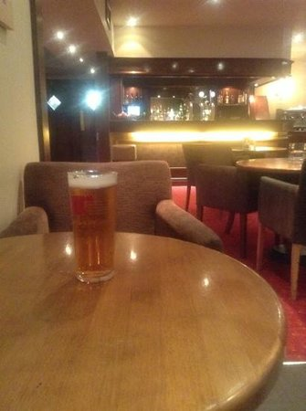 Clandeboye Lodge Hotel : in the lounge