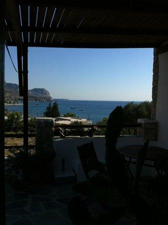 Agnanti Beach Studios: Vista dalla camera