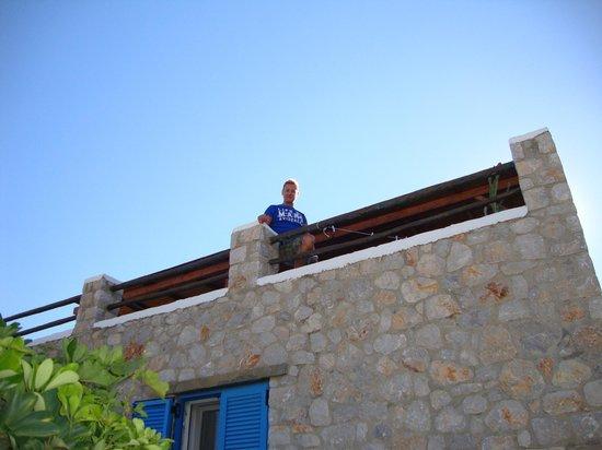 Agnanti Beach Studios: Sulla terrazza