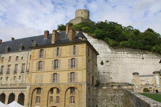 Château de La Roche-Guyon : you must climb to the top