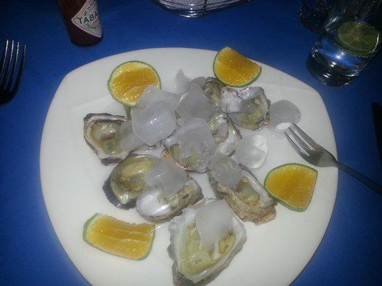 La Marina: oysters