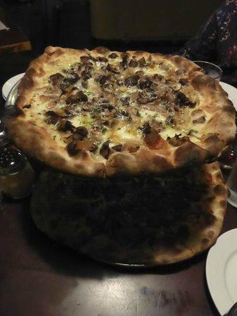 Farina : Pizza - funghi