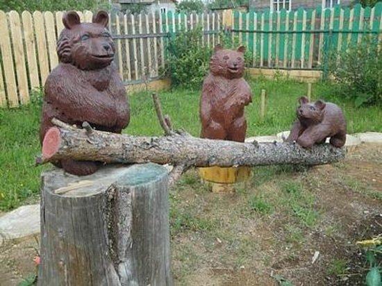 Kargopol, Russia: Медвежий край, г.Каргополь