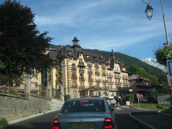 Les Thermes de Saint Gervais Mont Blanc : nice historical buildings