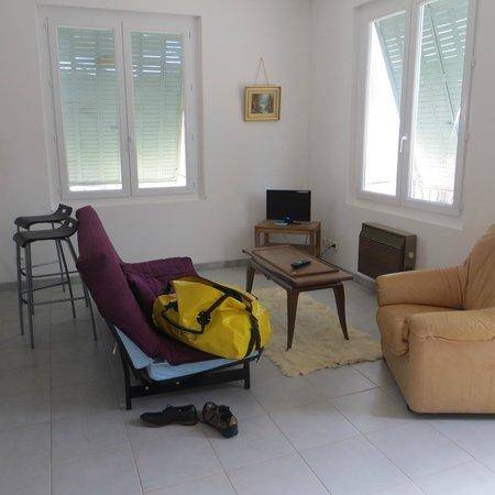 Mas des Baux : The living room