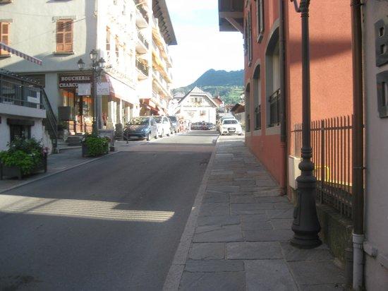 Les Thermes de Saint Gervais Mont Blanc : during our walk around