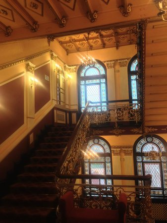 Hotel Pod Orlem: Staircase