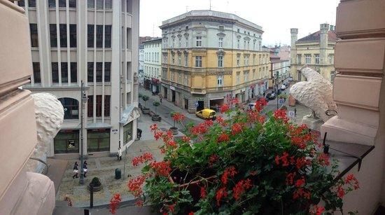 Hotel Pod Orlem: Balcony view panorama