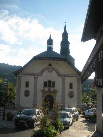Les Thermes de Saint Gervais Mont Blanc : church