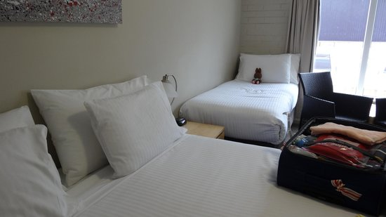The Murray Hotel Perth : big spacious room