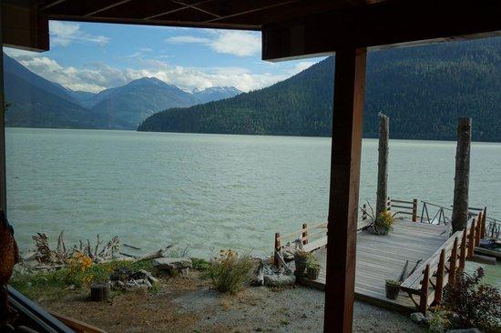 The Cottage B&B on Lillooet Lake: Lake view