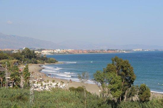 Kempinski Hotel Bahía: Ausblick Zimmer mit seitlichen Meerblick