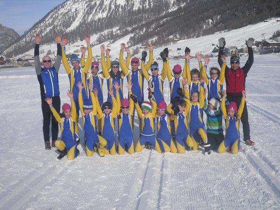 Hotel Aurea Rimini: un saluto dai ragazzi dello sci nordico valmalenco