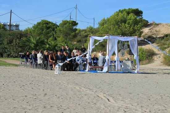 RV Hotel Ametlla Mar : boda en playa