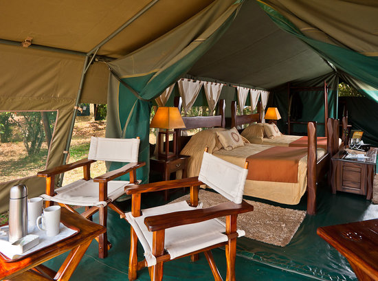 Entim Camp: Entim Guest Tent