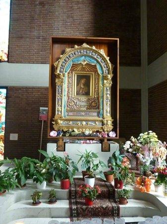 Imola, Itália: Il volto della Madonna alla quale vengono attribuite grazie