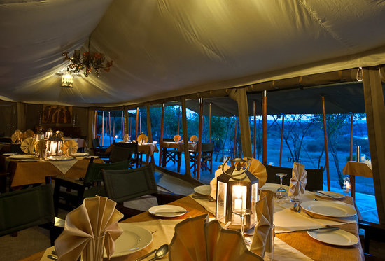 Entim Camp: Entim Dining Tent